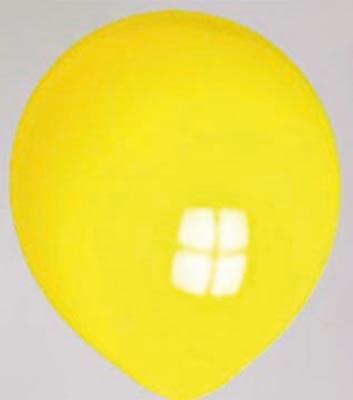 Ballon geel-neon 01nn