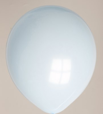 Ballon lichtblauw 02ps