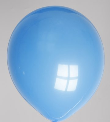 Ballon donkerblauw 03ps