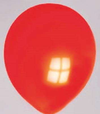 Ballon oranje-neon 05nn