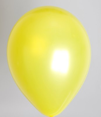 Ballon metallic-geel 21mt