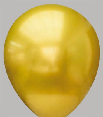 Ballon platinum-gold 25pm