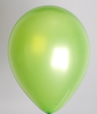 Ballon parel-limoengroen 35pl