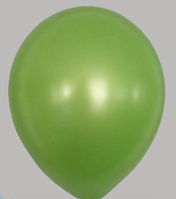 Ballon metallic-grasgroen 38mt