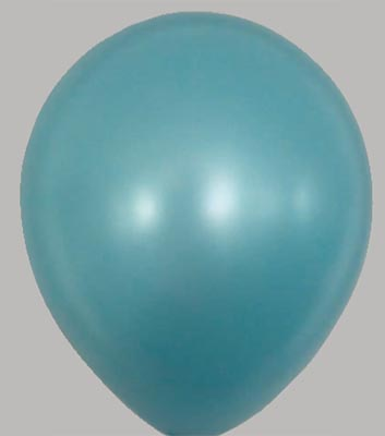 Ballon metallic-aqua 39mt