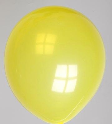 Ballon kristal-geel 41dc