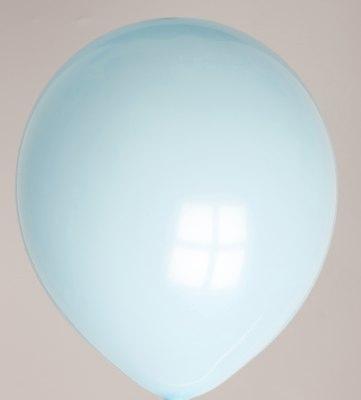 Ballon babyblauw 42dc