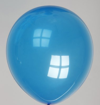 Ballon kristal-marineblauw 43dc