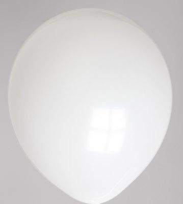 Ballon kristal-wit 45dc