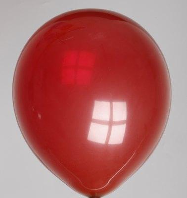 Ballon kristal-bordeaux 46dc