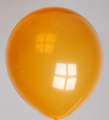 Ballon kristal-oranje 47dc
