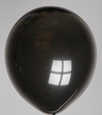 Ballon zwart 48dc