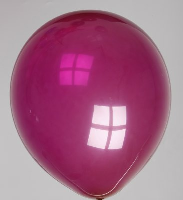 Ballon kristal-robijnrood 51dc