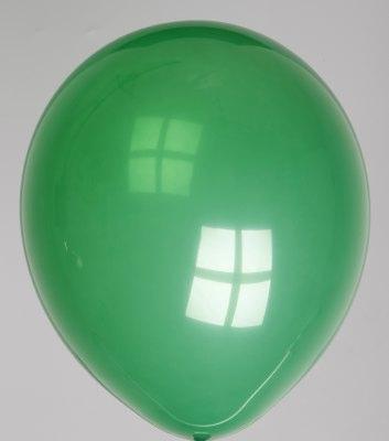 Ballon kristal-smaragdgroen 55dc