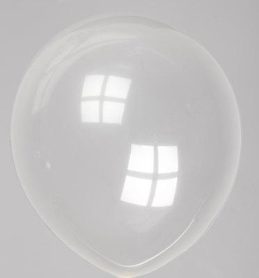 Ballon kristal-transparant 57dc