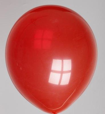 Ballon kristal-kersenrood 58dc