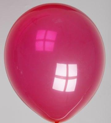 Ballon kristal-donkerviolet 61dc