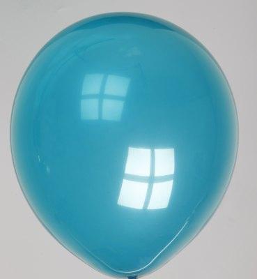 Ballon kristal-waterblauw 63dc