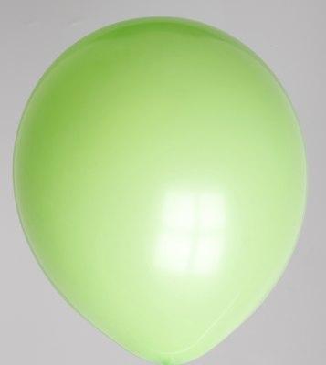 Ballon limoengroen 65dc