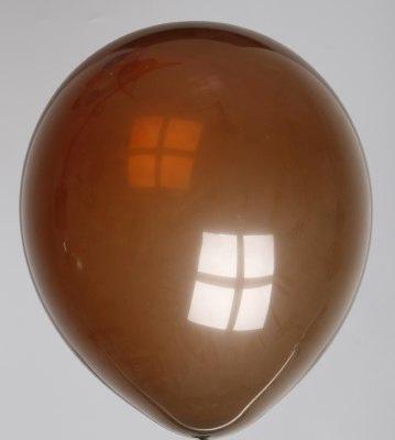 Ballon koffiebruin 67dc