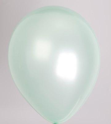 Ballon parel-lichtgroen 75pl