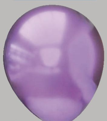 Ballon platinum-violet 76pm