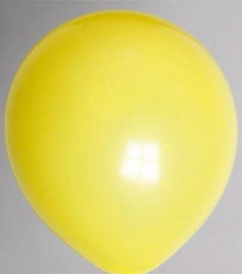 Ballon donkergeel 81dc