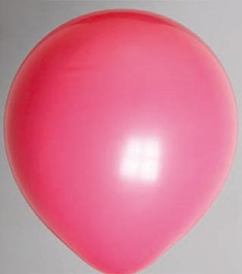 Ballon donkerrose 83dc