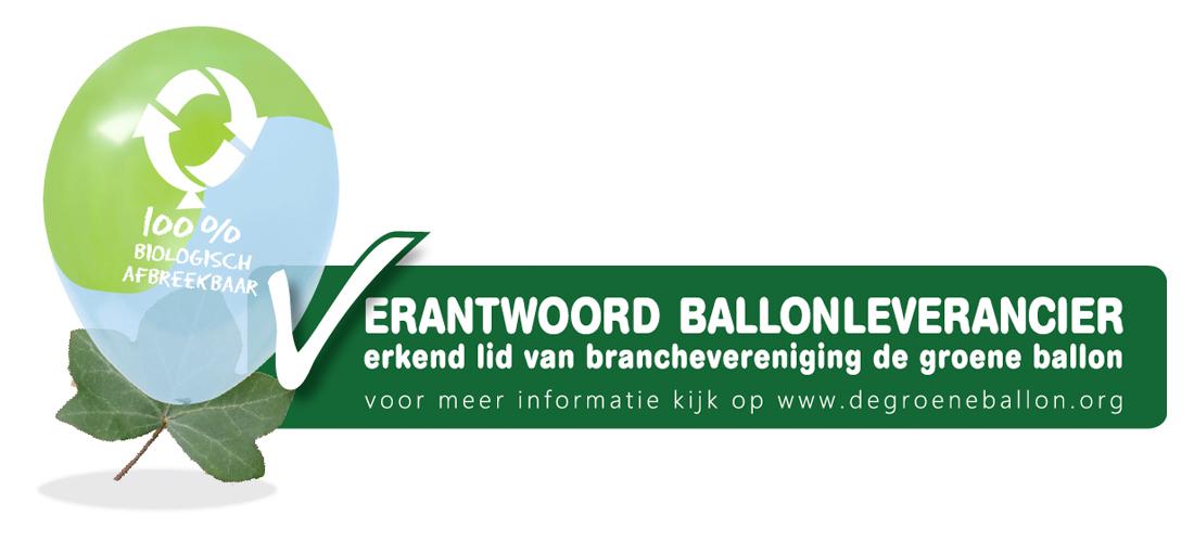 Erkend Lid Groene Ballon